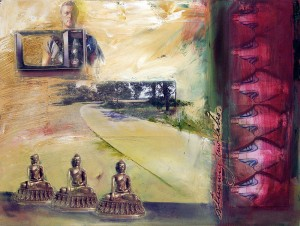 Karen Snouffer, Buddhas and Marys, 2013